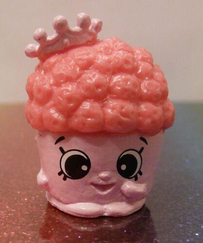 Shopkins Season 7 #51 POPCORN KING Pink Mint OOP