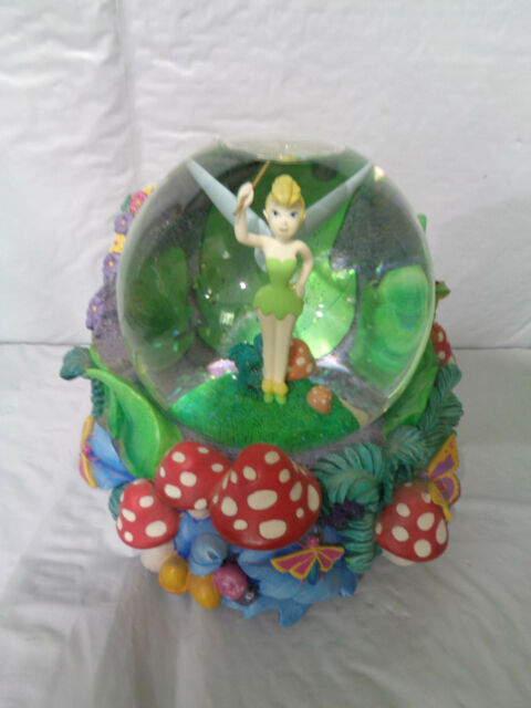 Tinker Bell Disney Musical Snowglobe Peter Pan You Can Fly Ebay
