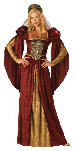 Renaissance Maiden 2B Adult Womens Costume Gown Dress Medieval Queen