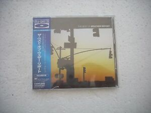 WEATHER-REPORT-THE-BEST-OF-JAPAN-BLU-SPEC-CD-NEW