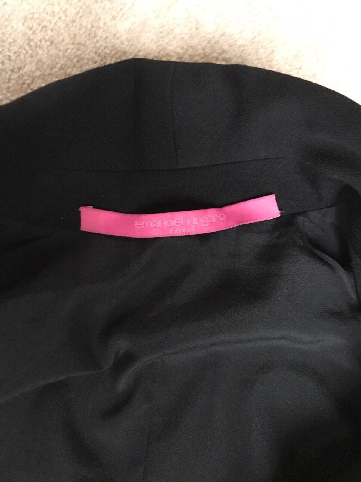 Emanuel Ungaro Giacca, Giacca, Giacca, 100% pura lana, s36 Pantaloni abbinati disponibili b559f2