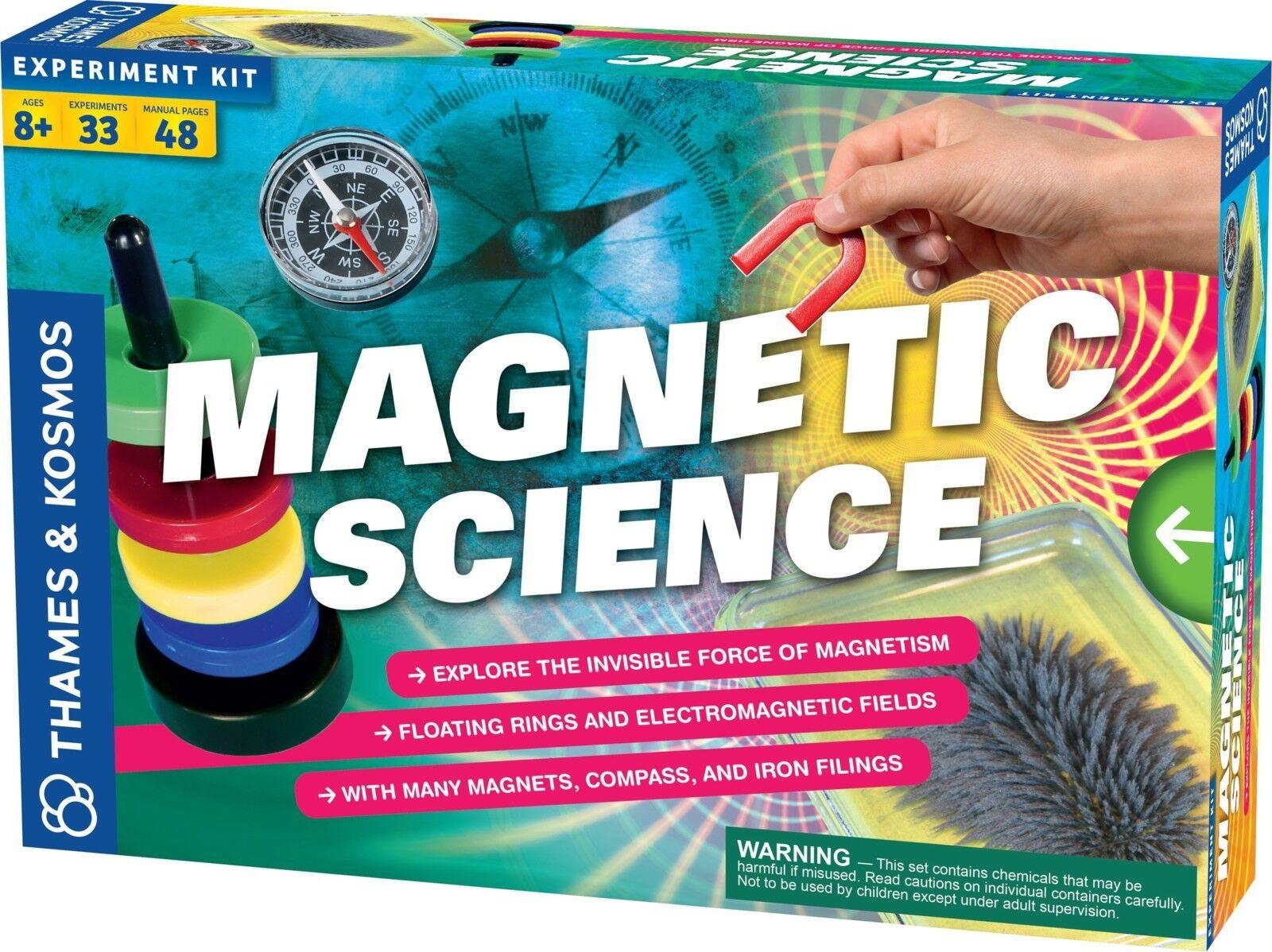 Kinder lernen die experimente der magnetischen science - geschenk junge mädchen neue