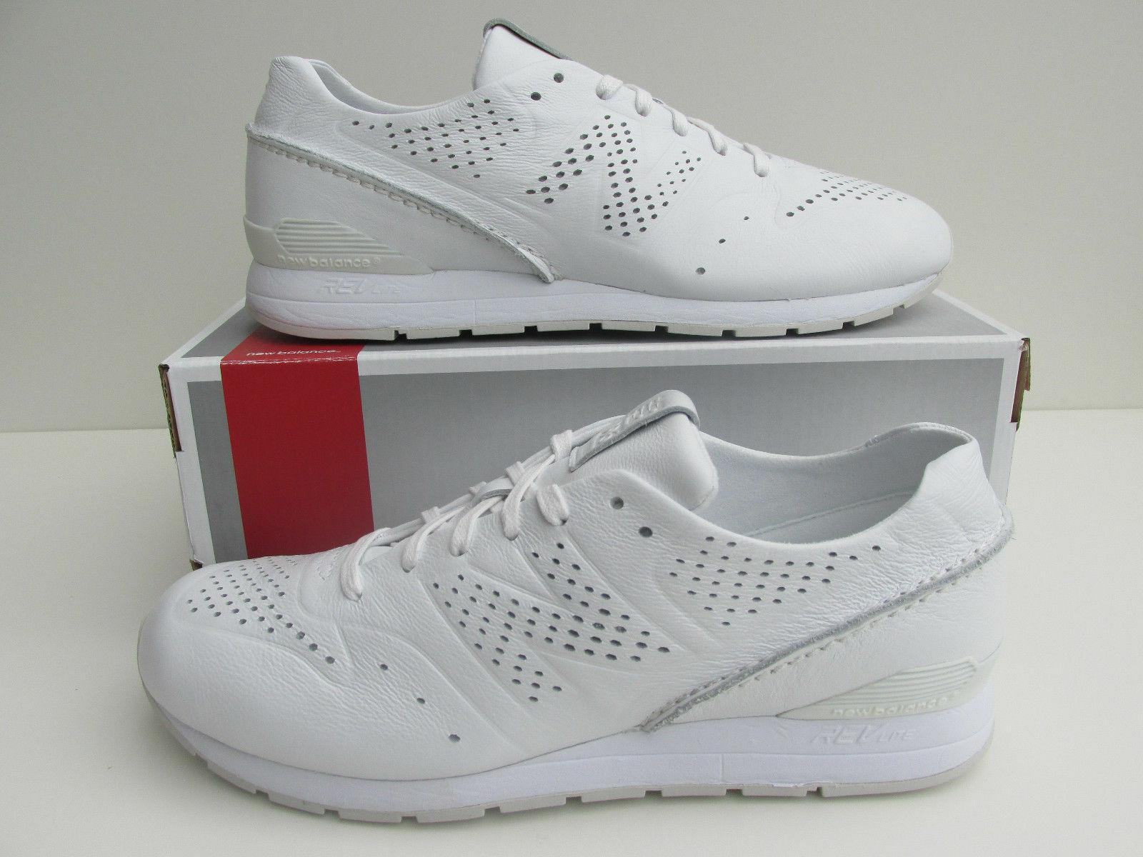BNIB NEW BALANCE  996 DT RE-ENGINEERED white leather RARE  MODEL