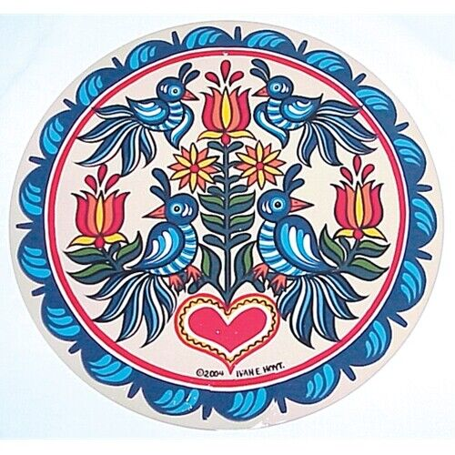 """16/"""" Tree Of Life Conestoga Hex Sign Design by Hexologist Ivan Hoyt USA Made"""
