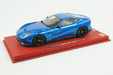 1/18 BBR FERRARI F12 BERLINETTA METALLIC BLUE RED LEATHER LIMITED 20 PIECES N MR