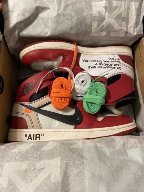 off White Jordan 1 Chicago Size 10.5