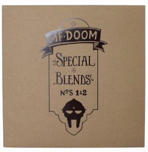 MF-DOOM-Special-Blends-Vol-1-amp-2-New-Vinyl-2xLP-Standard-Edition-Sealed
