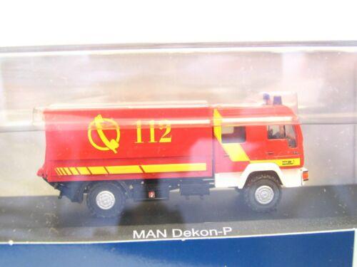 RB9289 Rietze 1//87 68037 MAN Dekon-P Feuerwehr Lindau OVP