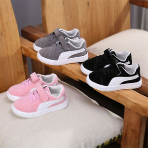 Boys Girls Kids Trainers Shoes Sneaker Children Infant Toddler Casual Shoes Size
