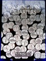 Harris Washington State Quarters Collection Vol 1 1999-2003 Coin Folder Book