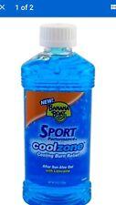 Banana Boat ® Sport performance Cool Zone Aloe vera + vE Gel With Lidocaine 8oz