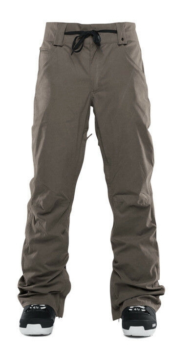 ThirtyTwo WOODERSON 10K Mens Snowboard Ski Pants Large Ash NEW