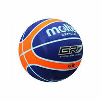 Molten Nylon Wound Basketball Blue Orange Gr Size 7