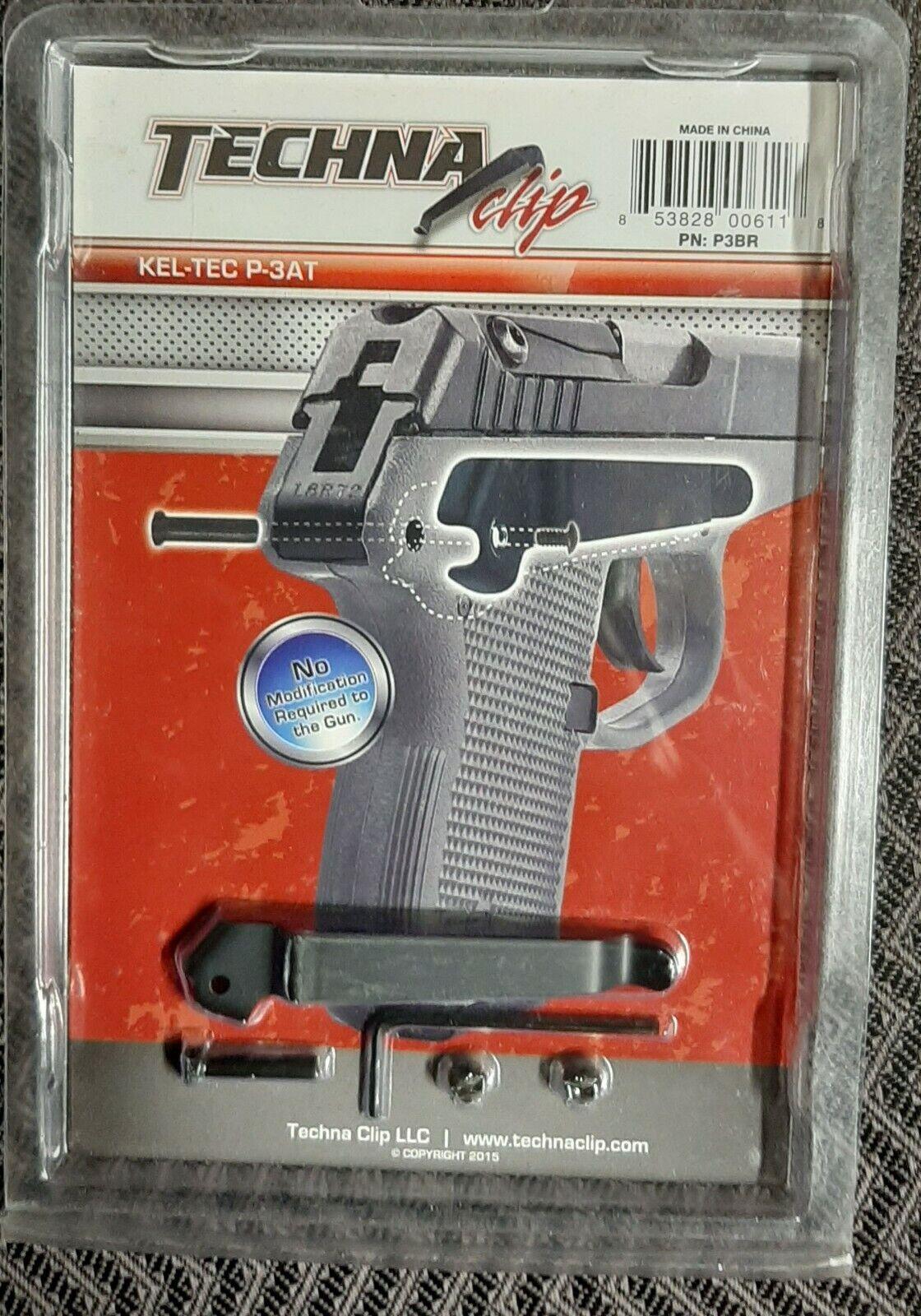 Techna Clip P3BR Keltec P3at RH BLK for sale online
