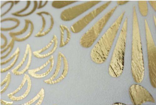 Luxury Modern Metallic Gold Floral Oriental Girls Boho Cushion Cover Case Decor