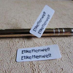 Blitzlieferung     Namensschilder Namensschild Wunschname Wäscheetiketten