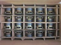 (40) Panasonic 3.5 Woofer Speakers.full Range Tv Shielded Lot.3-1/2 8ohm.