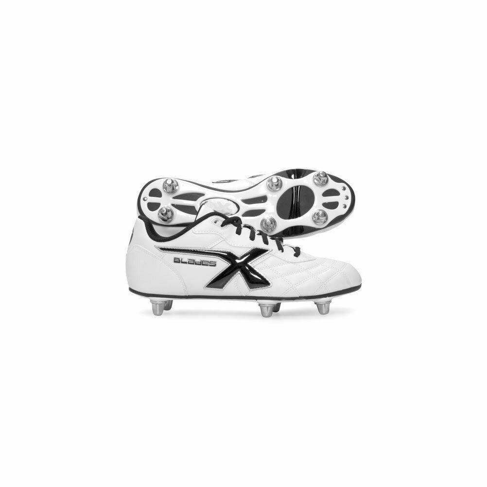 X BLADES legende 6 stud rugby laarzen [wit]