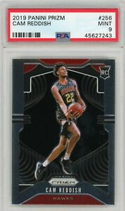 Cam-Reddish-Atlanta-Hawks-2019-20-Panini-Prizm-Rookie-Card-RC-256-PSA-9-MINT