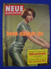 NEUE ILLUSTRIERTE 1958 Nr. 8: Ski-Kaiser Toni Sailer dankte ab