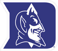 Duke University Blue Devils Large Cornhole Decals / Set Of 2