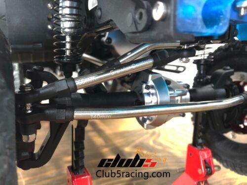 "6mm Stainless Steel /""Husky Link/"" HD M4 Steering Links Kit for Redcat GEN8"