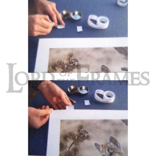 24mm x 10m Gummed Hinging Paper Tape Acid Free Removable Picture Art Framing