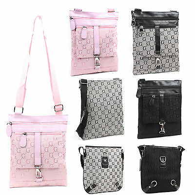 Ladies Girls G Print Small Satchel Bag Women Cross Body Shoulder Bag