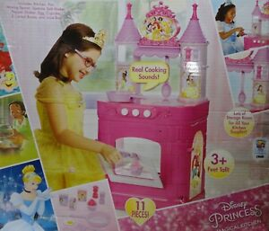 Details about Disney Princess Magical Play Kitchen (Missing Egg Turner,  Spoon and Pan)