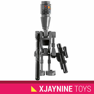 GENUINE-LEGO-STAR-WARS-IG-88-Bounty-Hunter-Assassin-Droid-Minifig-Blasters-NEW