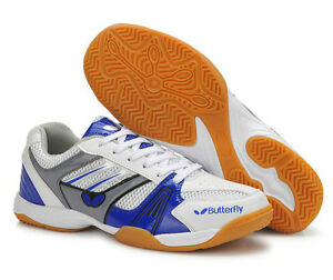 Butterfly Ping Pong/Table Tennis Shoes/Trainers UTTP-1, Blue, New ...