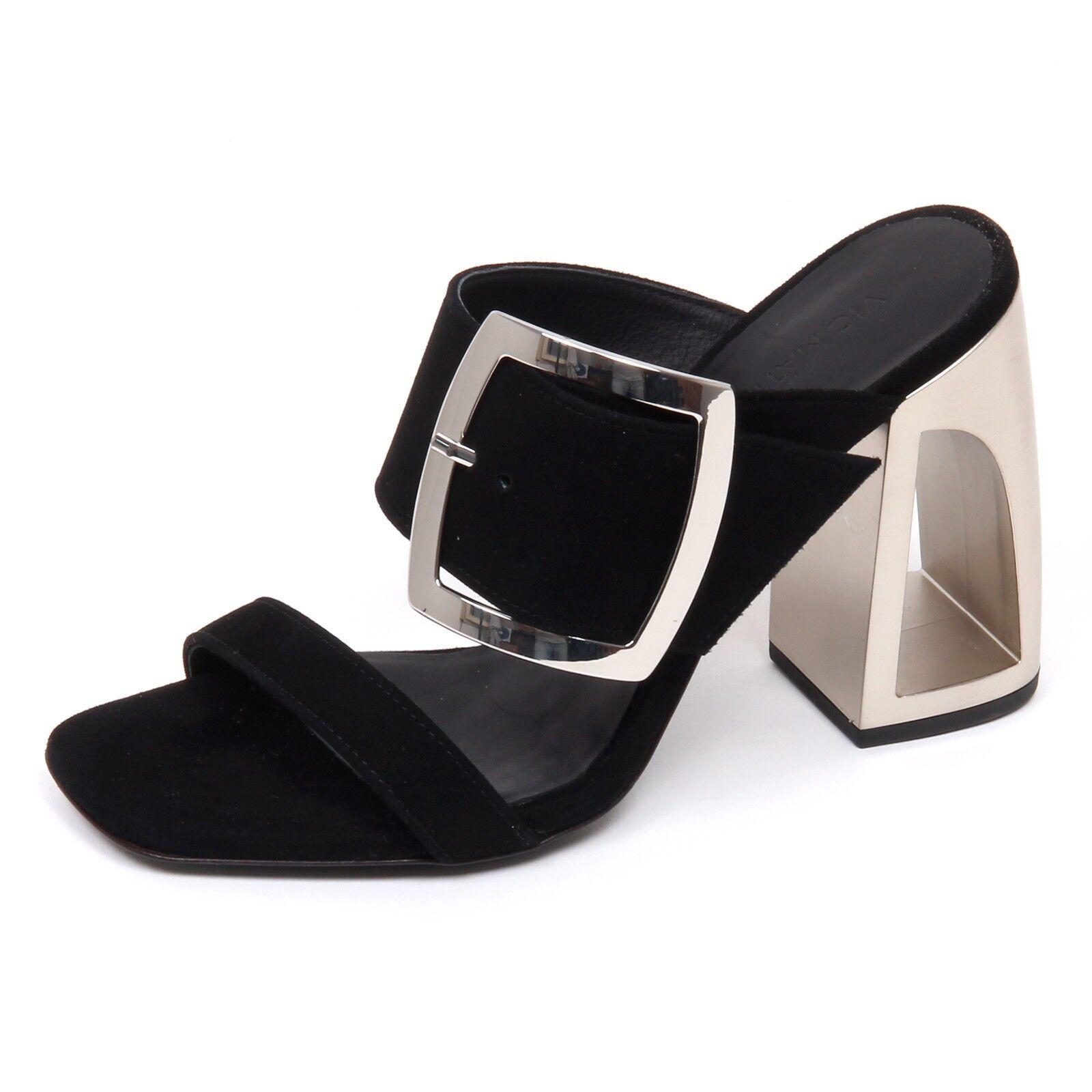 E9530 Sandalo Sandalo Sandalo mujer Negro Vic Matie LongIsland zapatos Gamuza Sandalia Zapato Mujer  suministramos lo mejor