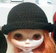 Blythe cute Black knitted hat , dress ,  Outfit , doll not enclosed