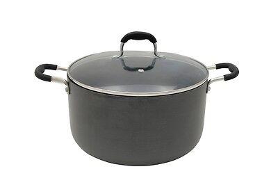 CONCORD Eco Friendly Hard Anodized Non Stick Dutch Oven Casserole Cookware Pot