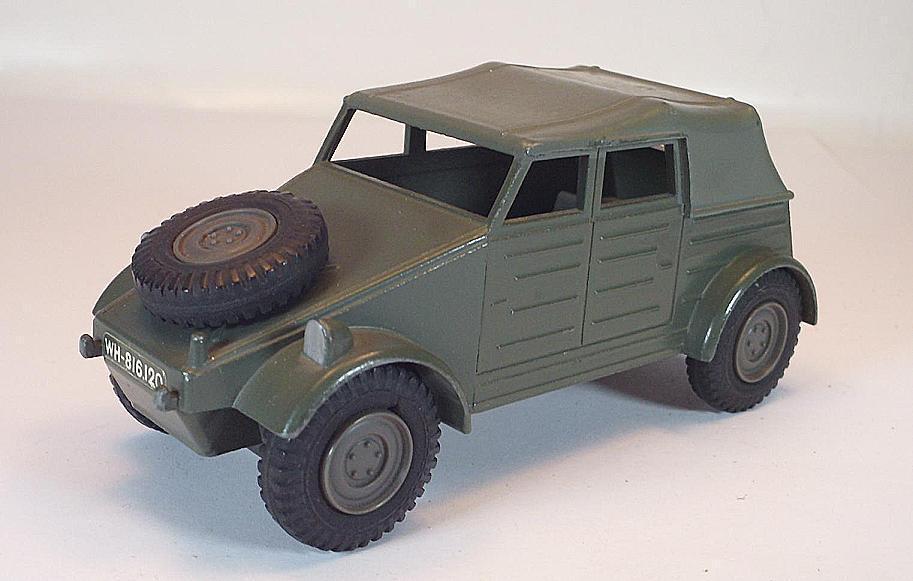 Dinky Juguetes Battle lines nº 617 VW volkswagen Kdf Wehrmacht militar  5781