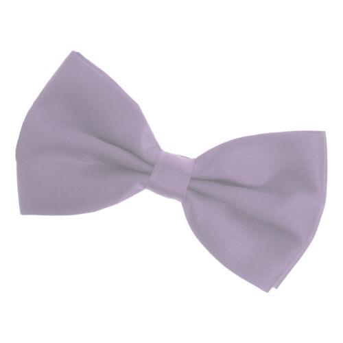 Unisexe noeud papillon Homme Femme Costume Boucle Carnaval veste de sport Chemise Cravate Lilas