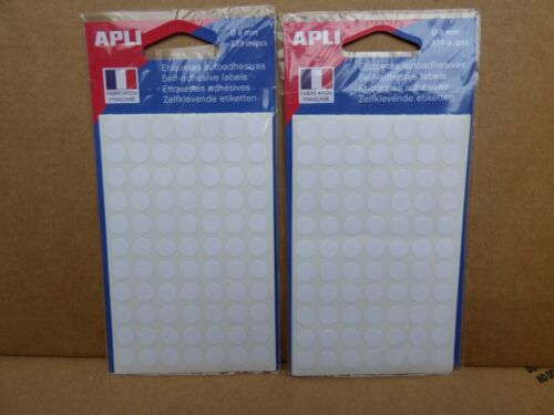 1078 PASTILLES Rondes Blanches   8 mm   AGIPA