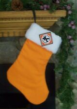 Allis Chalmers Tractor Christmas Stocking Holiday Gift