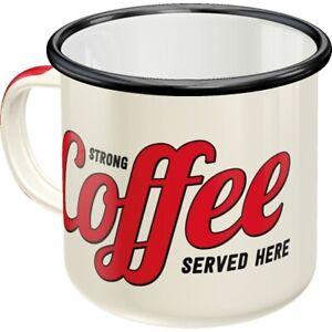 Emaille-Strong-Coffee-Becher-Kaffeetasse-Souvenir-Tasse-360-ml-coffee-mug