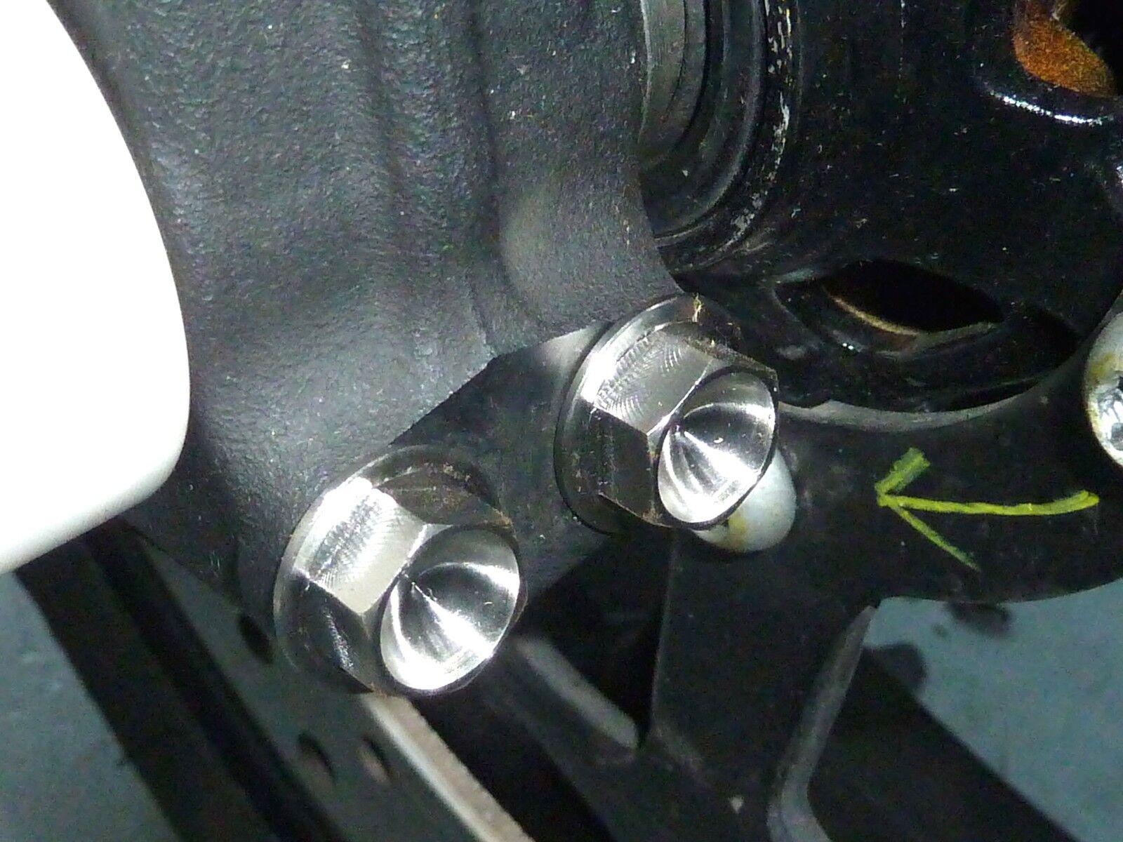 Kawasaki Kawasaki Kawasaki KX250F KX450F ZRX1100 Forcella Anteriore Bulloni Titanio Hex Ti Nuovo | Export  | Prese tedesche  | Ha una lunga reputazione  7a1b76