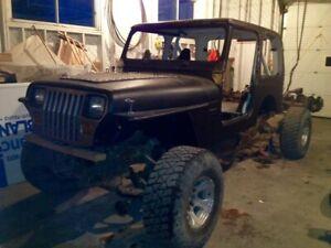 1991 jeep yj wrangler project