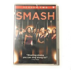 Smash-Season-Two-DVD-2013-4-Disc-Set-BRAND-NEW