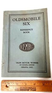 1929-OLDSMOBILE-Six-Owners-Manual-Very-Good-Condition-CDN