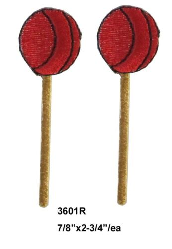 Lot 2Pcs Sucker,Candy,Sugar Embroidery Iron On Applique Patch