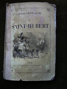 Benedict-Henry-REVOIL-LA-SAINT-HUBERT-1874-CHASSE-Venerie
