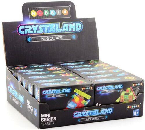N-Brix Crystaland Mini Series 12 verschiedene Motive im Display