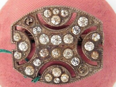 Fashion Jewelry Jewelry & Watches Discreet Bellissimo Spilla Art Deco Vintage 1920/30 Neuve /old Nuovo Art Deco Broch Wide Varieties
