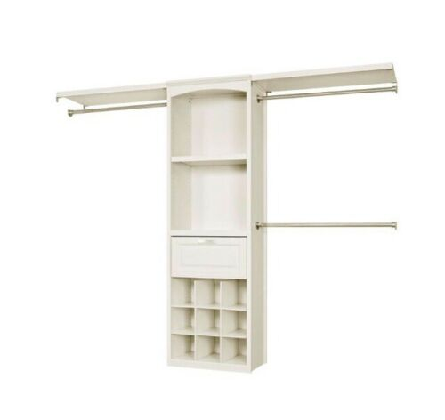 Allen And Roth Complete Closet Kit White