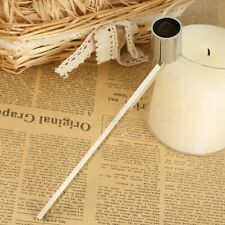 Lemoning Stainless Steel Smokeless Candle Wick Bell Snuffer Home Hand Put Off Tool Kit