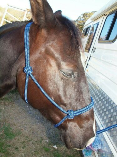 2 Knot Rope Halter 10mm Rope Rope Headstall